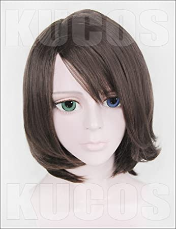 Amazon.com: LanTing Cosplay Wig Final Fantasy X-2 YUNA Brown Wigs Corta Cosplay Party Fashion Anime Human Costume Full wigs Synthetic Hair Heat Resistant ...