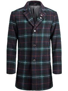 JACK & JONES Jorluke Wool Coat, Abrigo para Hombre