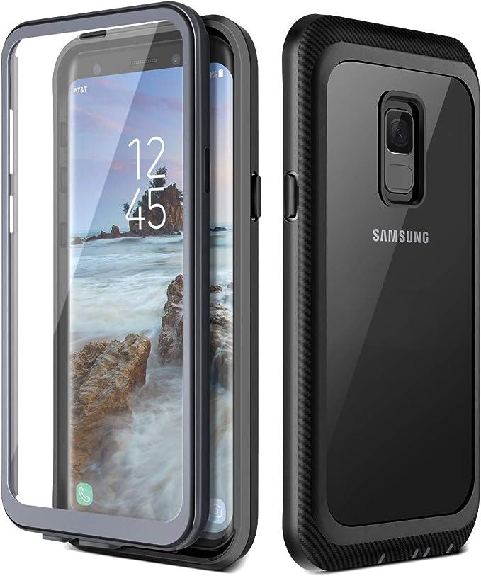 12 opinioni per Prologfer Cover Samsung Galaxy S9 Protezione dello Schermo Pannello Posteriore