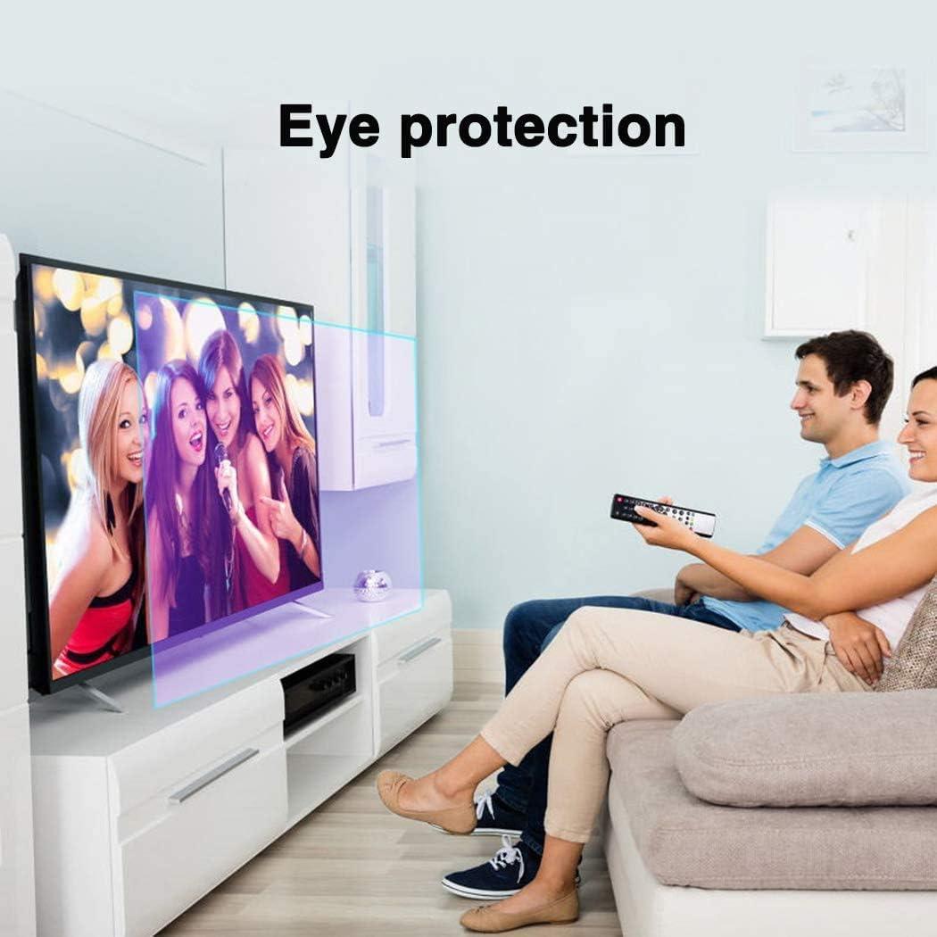 DPPAN 58 Pulgadas Antirreflejos TV Protección de Pantalla para ...