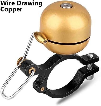Lenker Fahrrad Glocke Golden Kupfer gewöhnlichen Fahrrad Retro Metall Fahrr