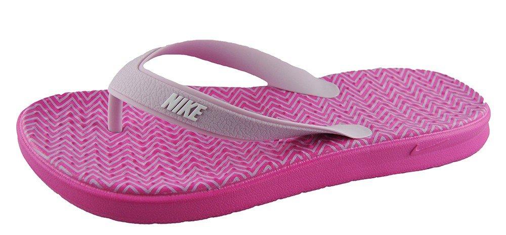 Amazon.com: Nike Womens SOLAY THONG PRINT, PINKFIRE II/WHITE-ICED LILAC:  Shoes