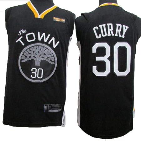 AKCHIUY Camiseta De Baloncesto Hombre,NBA Warriors 30 Stephen ...