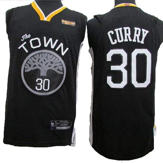 NBA Camiseta De Baloncesto Hombre,NBA Warriors 30 Stephen ...