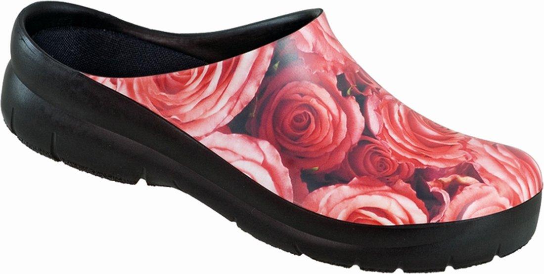 Alpro Jolly Picture Clog - Zapatos con hebilla para mujer 36 Estrecho|Rosa