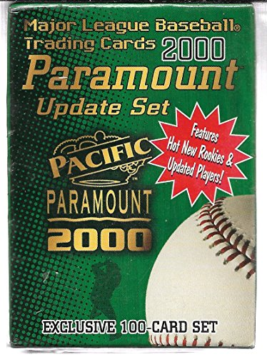 2000 Pacific Paramount Baseball 100 Card Update Set Sealed In Box