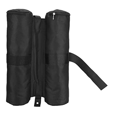 Keenso Canopy Weight, Tent Leg Weight Canopy Weighted Sand Bags Pop-up Sunshade Tent Foot Outdoor Sun Shelter Legs(Black): Sports & Outdoors