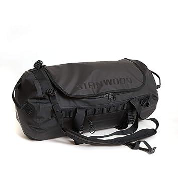 Steinwood Bolsa de Viaje Impermeable 40L Mochila multifunción Bolsa de Transporte Negro con función de Mochila y Bolsillos para Accesorios: Amazon.es: ...