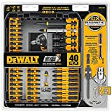 Tools & Hardware : DEWALT DWA2T40IR IMPACT READY FlexTorq Screw Driving Set, 40-Piece