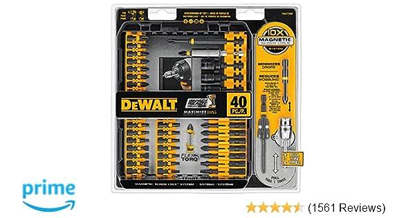 c25b12147 DEWALT DWA2T40IR IMPACT READY FlexTorq Screw Driving Set