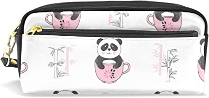 Estuche para lápices con diseño de osos de panda para estudiantes, papelería, lapicero, estuche para escuela, oficina, organizador de almacenamiento: Amazon.es: Oficina y papelería