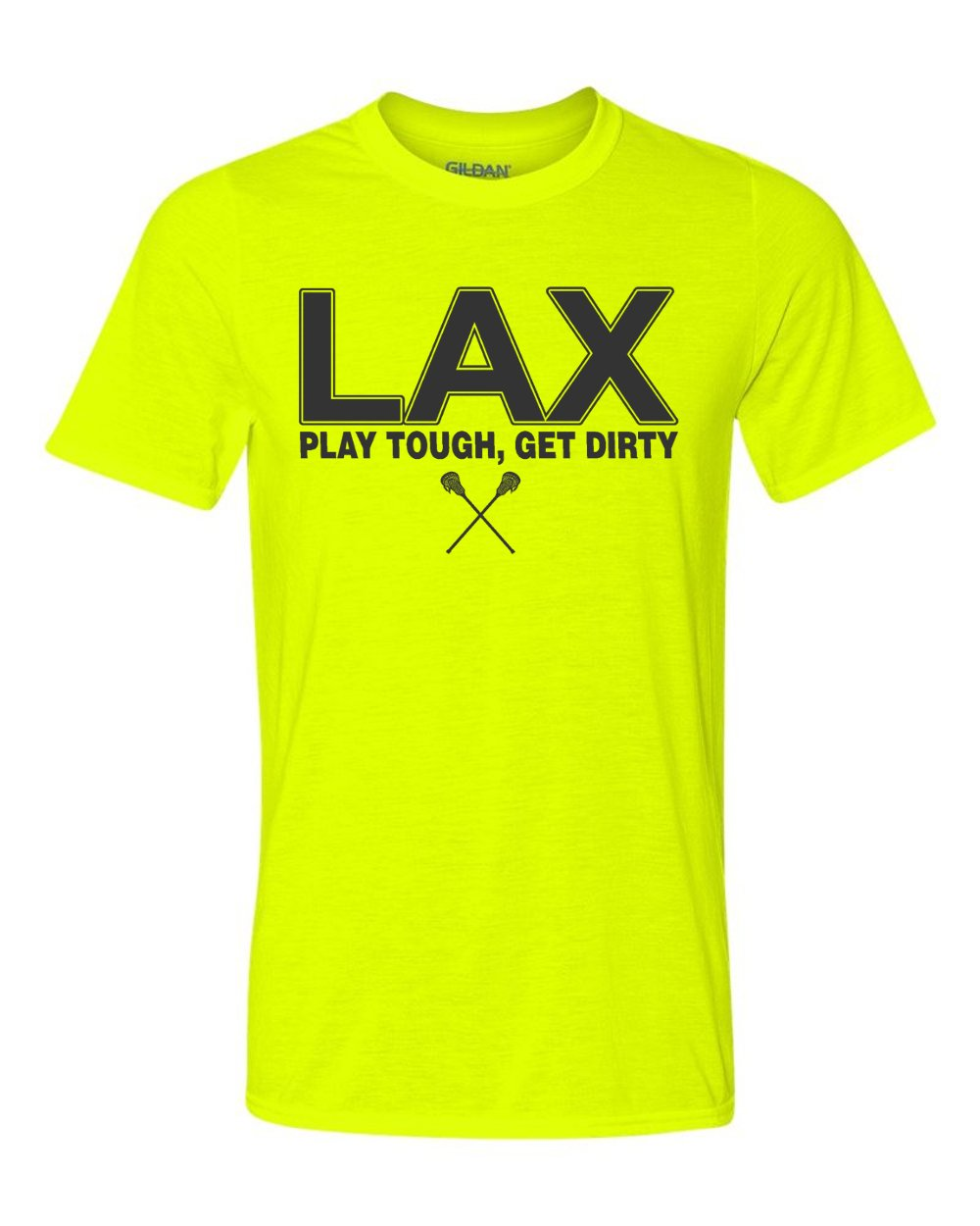 LAX Charcoal Logo JANT girl Lacrosse T-Shirt