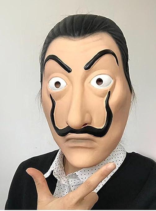koobea Salvador Dali Máscara- Casa de Papel Dali Mask: Amazon.es: Juguetes y juegos