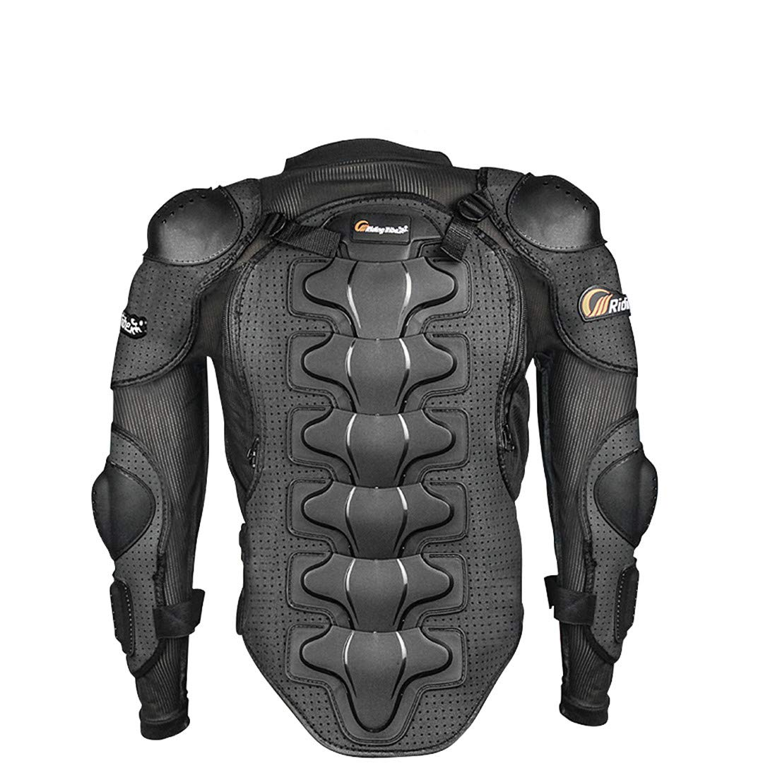 Motorcycle Racing Body Armor Jacket Off-Road Safety Protection Motocross Clothing Chest Spine Protector Gear M
