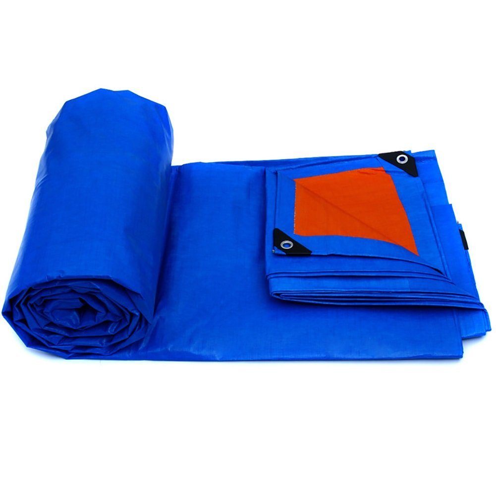 MSNDIAN Wasserdichte Regenschutztuchregenschutz-LKW-Plane der Plane regendichte Tuchplastikgewebe-Plane im Freien Starke Segeltuch Outdoor-Sportartikel
