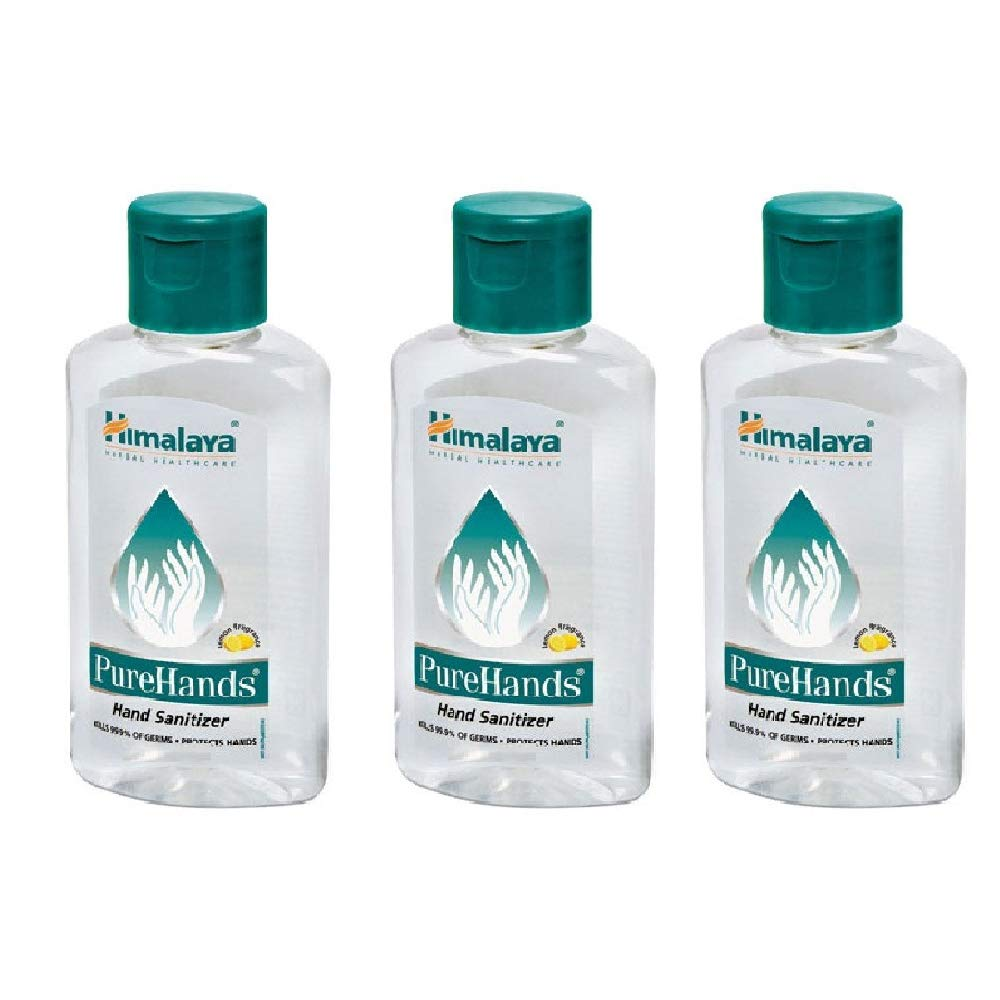 Buy Himalaya Pure Herbal Hand Sanitizer 100ml Pack Of 3 Online