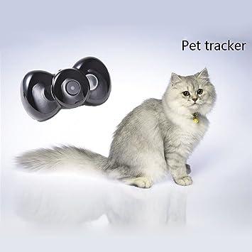 KKmoon Mini GSM/GPRS Localizador MMS Video en Tiempo Real Forma Pajarita Tracker para Mascotas Perros Gatos Posicionamiento: Amazon.es: Electrónica