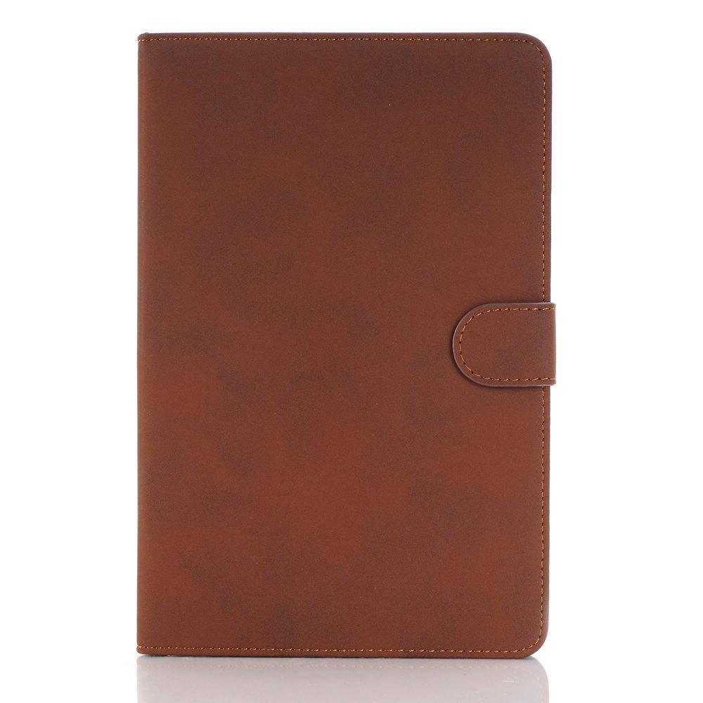 Mini iPad 5 Case 2019 Model, YiMiky Slim Folio Shell Smart Stand Case for 2019 Model iPad Mini 5 Ultra Slim Book Cover Protective Case for 7.9 Inch iPad Mini 5/ iPad Mini 4 2015 - Dark Brown by YiMiky (Image #8)