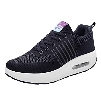 cb50f536859e Image Unavailable. Image not available for. Color  Outdoor Mesh Sports  Shoes Women Girl Mesh Breathable Thick Soft ...