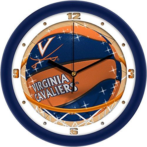 SunTime NCAA Virginia Cavaliers Slam Dunk Wall Clock