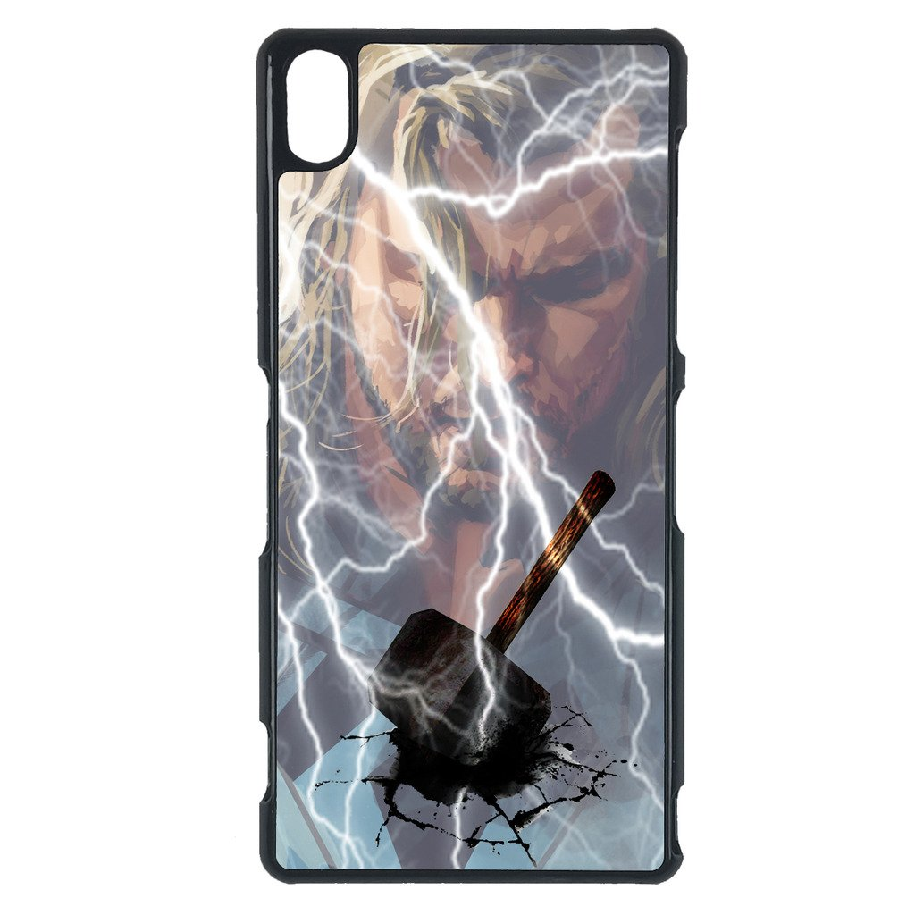 Amazon.com: Avengers, Thor Sony M5 case Customized premium ...