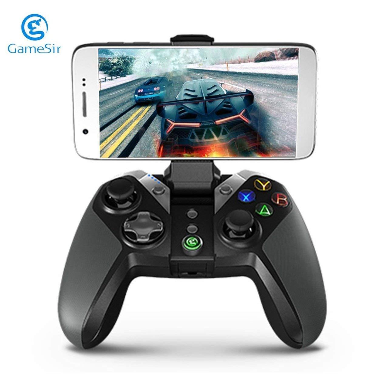 ROTstrong GameSir G4 Blautooth Gamepad mit Handyhalter für Android TV Box Telefon Tablet verdrahtete Oder Drahtlose Controller für PC VR Spiele