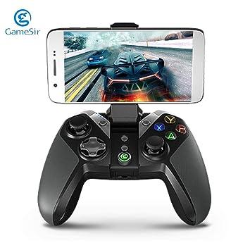 Redstrong GameSir G4 Bluetooth Gamepad mit Handyhalter für Android ...