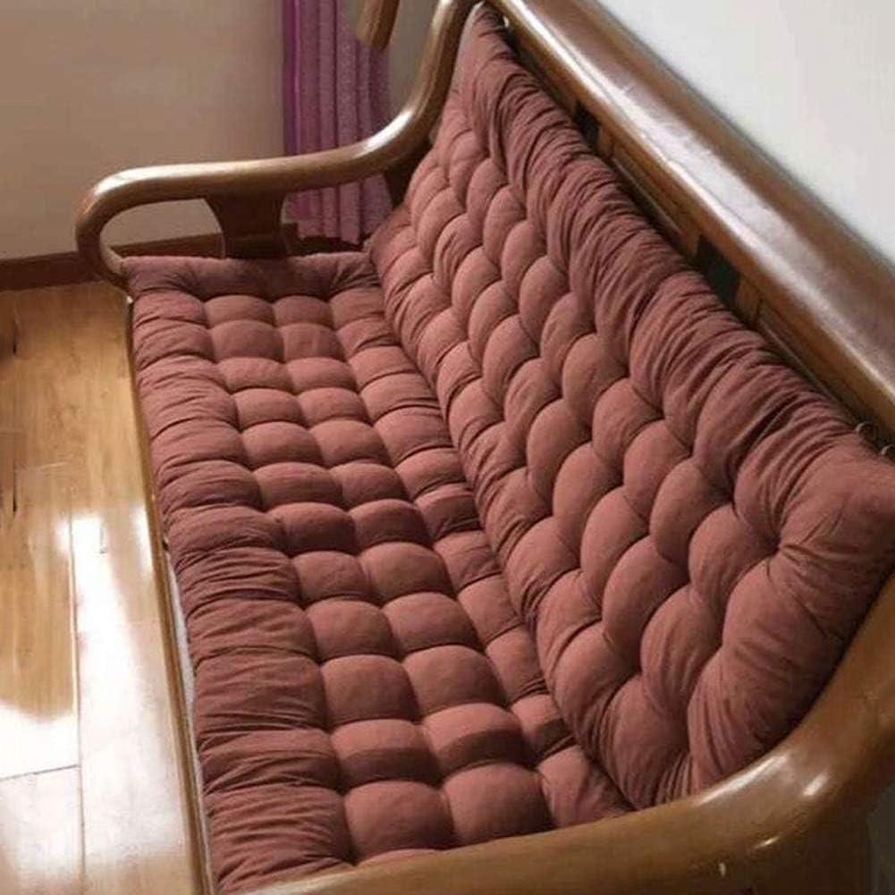 qwqqaq Suave Patio Chaise Lounge Cojín,Espesar Tatami Cojines De Mecedora,Interior Exterior Cojín Cojín Settee para Sofá W 48x175cm(19x69inch)
