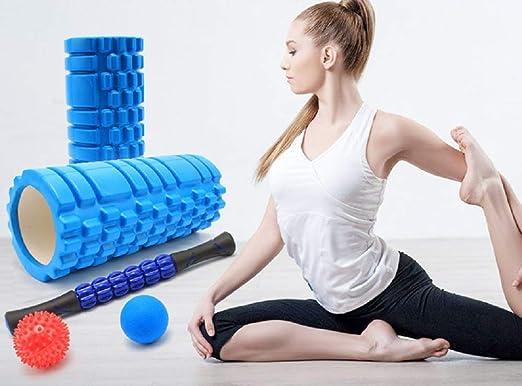 Yoga Foam Rollers 5 En 1 Kit para Masaje Muscular con ...