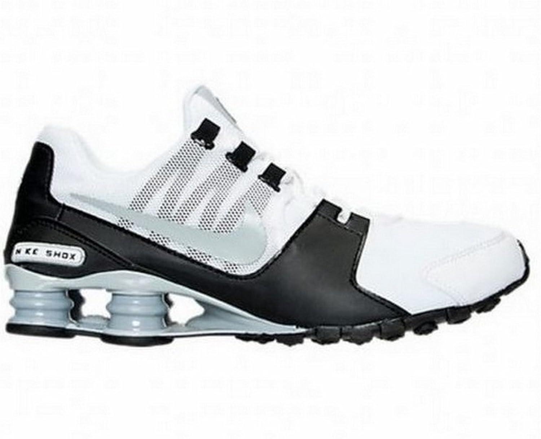 Nike Pánské Shox Avenue Běžecké boty Bílý Wolf Šedá Černá Avenue Běžecké boty Bílý Online prodej T41651