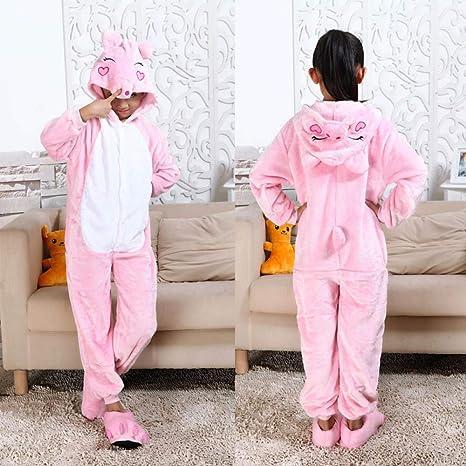 LSJSN Pijama Pijamas para Niños Fiesta De Animales para Niños ...