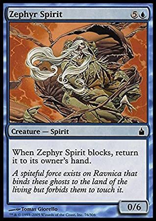 Magic: the Gathering - Zephyr Spirit - Ravnica - Foil