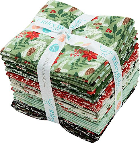 Dani Mogstad Comfort and Joy 24 Fat Quarters Riley Blake Designs FQ-6260-24 by Riley Blake Designs