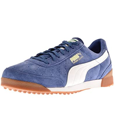 Blue Mens Puma Trimm Quick Trainers Blue - 9 (43)