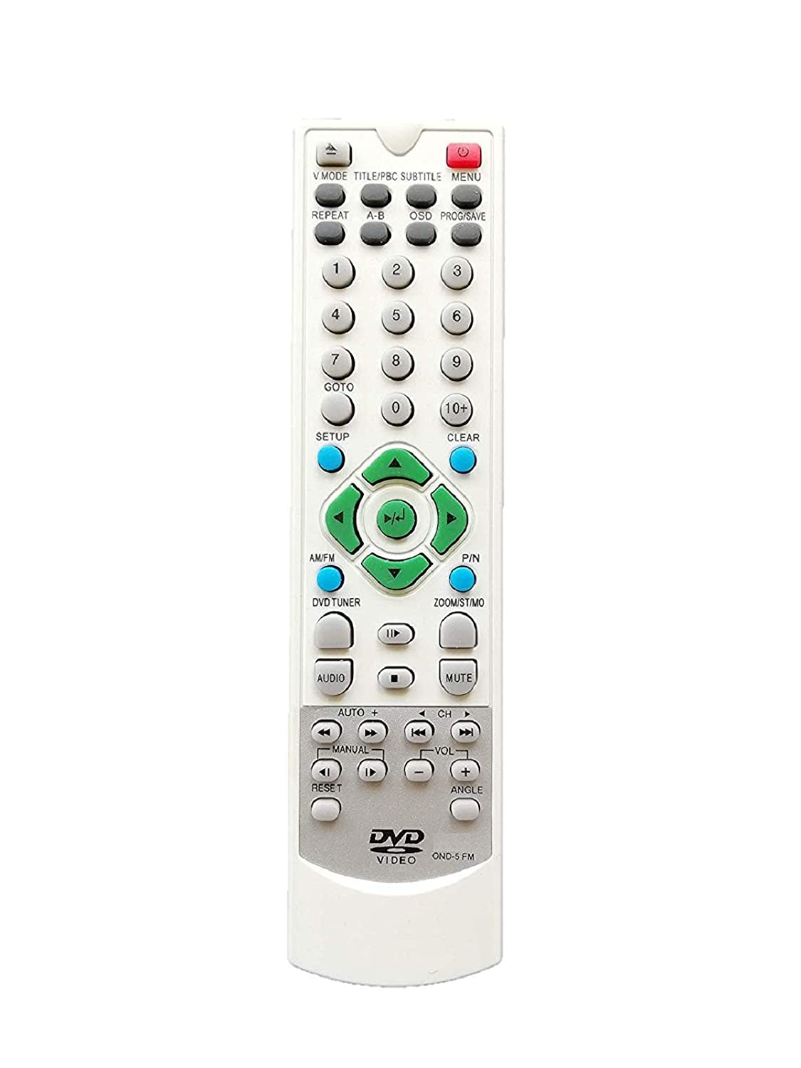 Buy Bhaltech Ond 5 Fm Dvd Player Remote Control Compatible With Fm Dvd Onida Online At Low Prices In India Amazon In