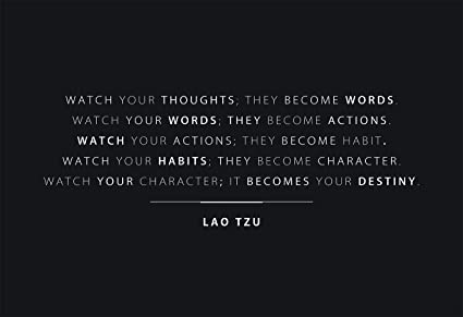 Amazoncom Wesellphotos Watch Your Thoughts Quote 13x19 Poster With