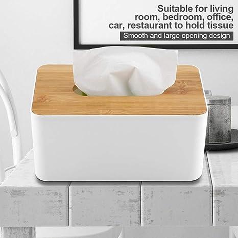 Plastic Paper Case Home//Car Holder Organizer Dispenser Cover Tissue Box Wooden