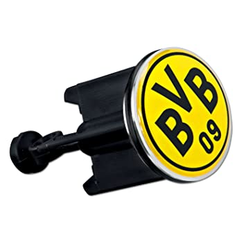 Borussia Dortmund Waschbeckenst/öpsel Plus Lesezeichen I Love Dortmund Stopfen BVB 09 St/öpsel