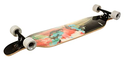 VOLADOR 42-inch freeride longboard complete cruiser (drop through deck -camber concave)