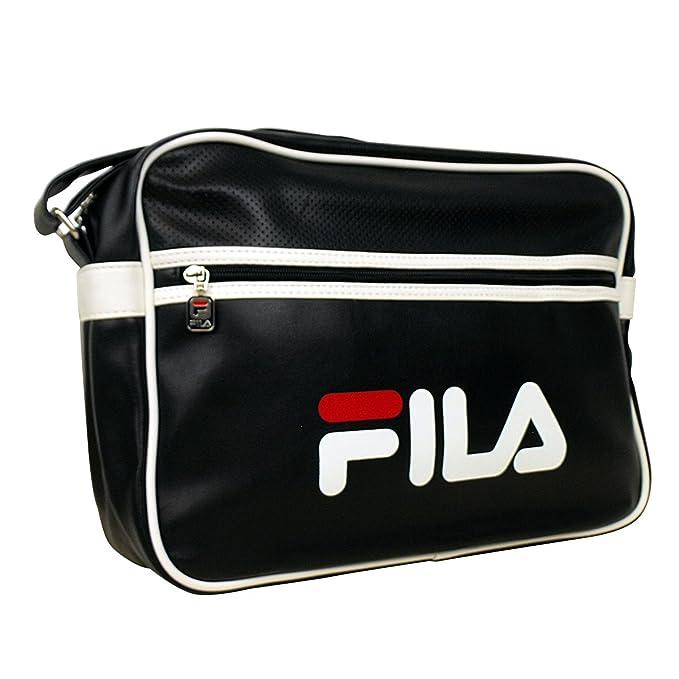 bbe98b1964 Fila Docena Airline Retro Record Messenger Bag Vintage Laptop School Style   Amazon.co.uk  Clothing