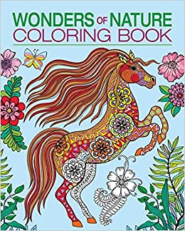 wonders of nature coloring book chartwell coloring books patience coster 9780785833703 amazoncom books - Nature Coloring Book