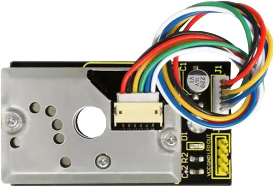 Gazechimp PM2.5 Escudo para Arduino Sensor de Partículas de Humo ...