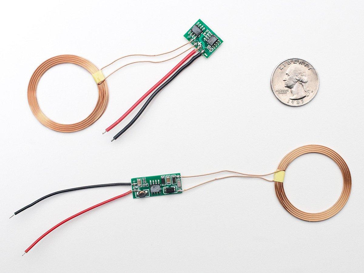 Adafruit Inductive Charging Set - 5V @ 500mA max [ADA1407]