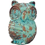 Owl Drawer Pull, Blue