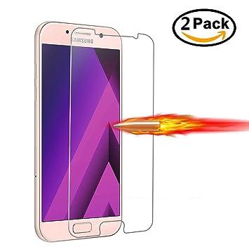 e87aed9f0e67fe Panpan Protection d écran pour Samsung Galaxy A5(2017),  2-Pack ...