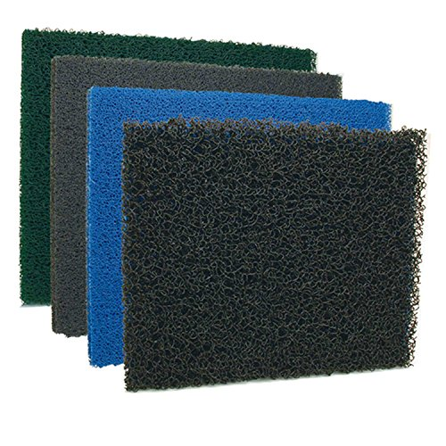 Lifegard Aquatics AquaMesh Progressive Filter Media- Black- 39