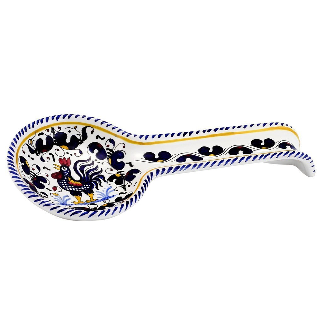 ORVIETO BLUE ROOSTER: Spoon Rest Deluxe by ORVIETO BLUE ROOSTER