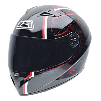 NZI 050261G043 Must NR Casco de Moto, Talla M