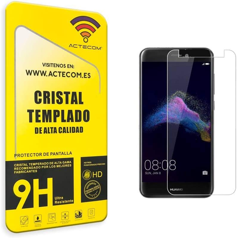 actecom® Protector DE Pantalla para Huawei P9 Lite 2017 Cristal ...