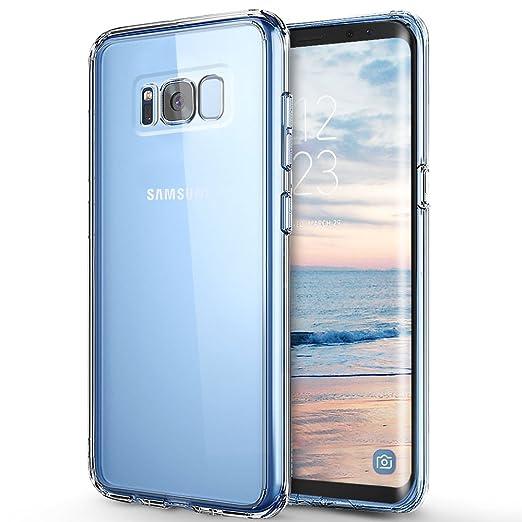 45 opinioni per Custodia Galaxy S8 , ikalula Galaxy S8 cover Morbido TPU Custodia [Chiaro